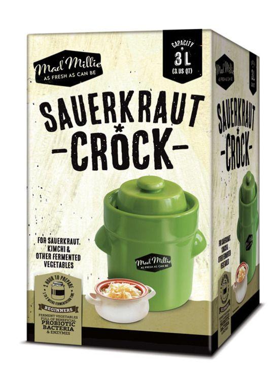 Sauerkraut Crock - perfect for Mother's Day