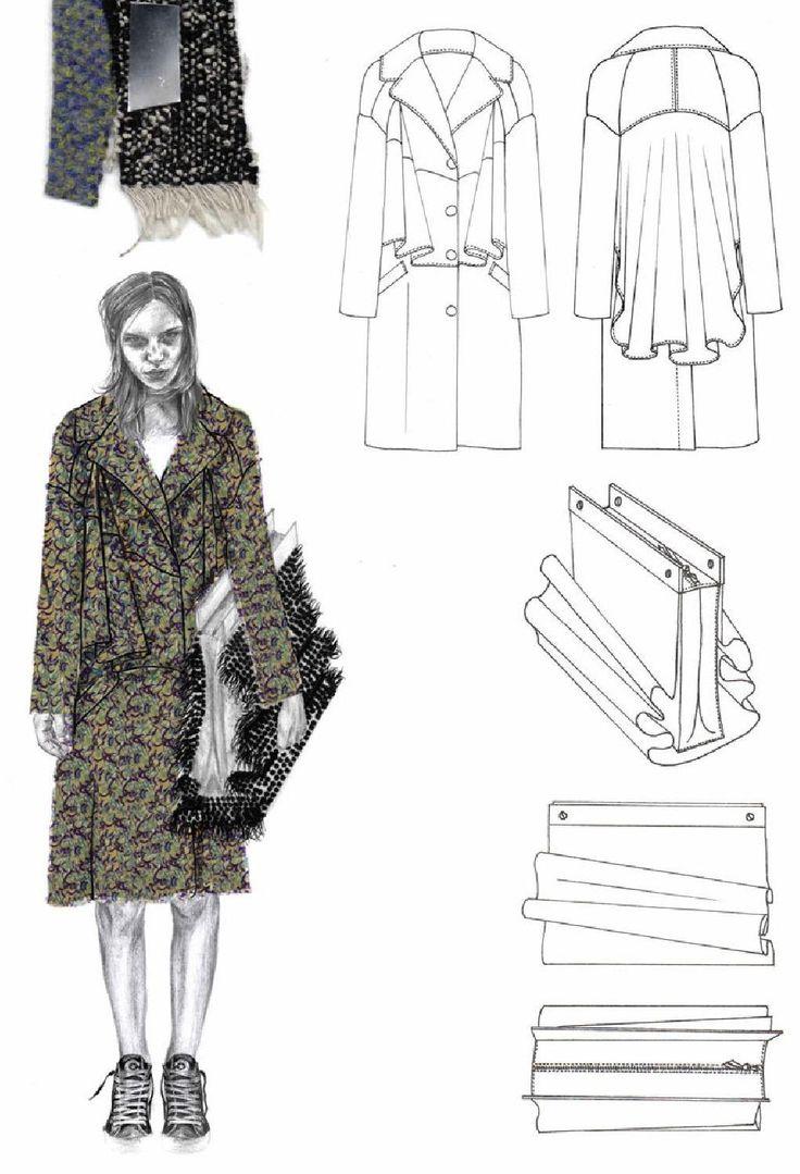 Fashion Sketchbook - fashion illustration & flat drawings; fashion portfolio…