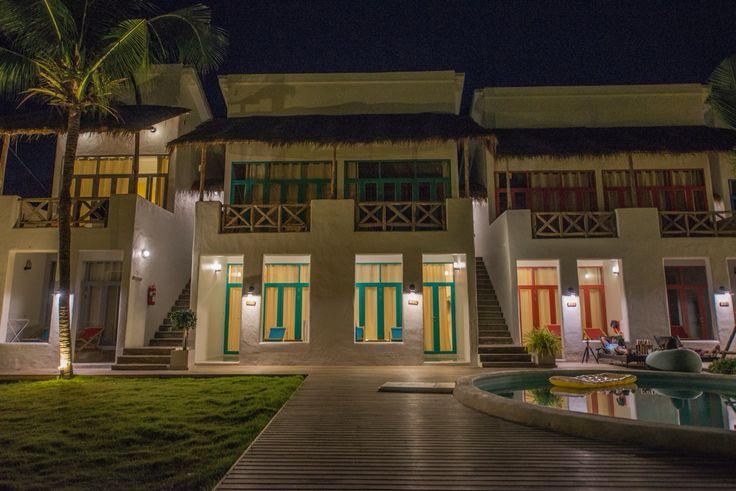 Night view at Pajamas Hostel Koh Chang Thailand