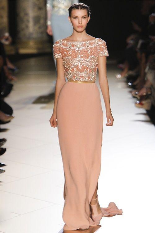 Elegant       Elie Saab Haute Couture FW 2012,Kate King
