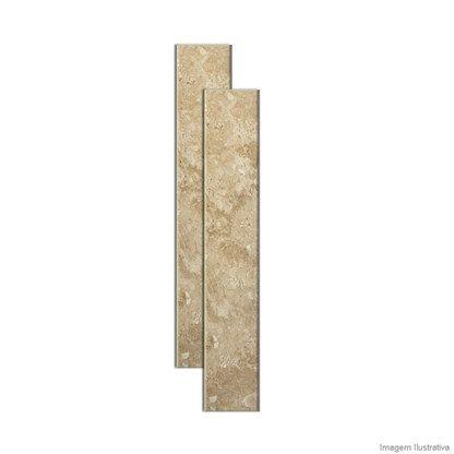 Soleira de mármore 82x14cm travertino Granífera - Telhanorte