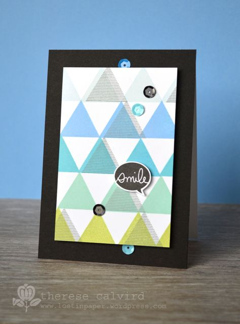 Smile card - OCC Stretch Your Stamps 2