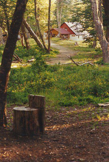 fotografia-artistica | Landscape, refugio Neumeyer en Bariloche, Rio Negro, Argentina, photo by Arq Margot Cueto