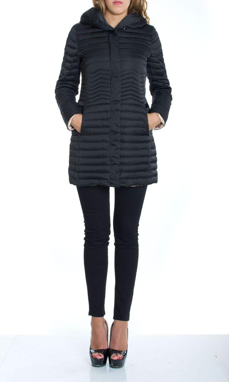 Trussardi Jeans | Piumino D'Oca Trussardi Jeans Donna Giubbotto Col. Nero - Shop Online su Dursoboutique.com 56S50