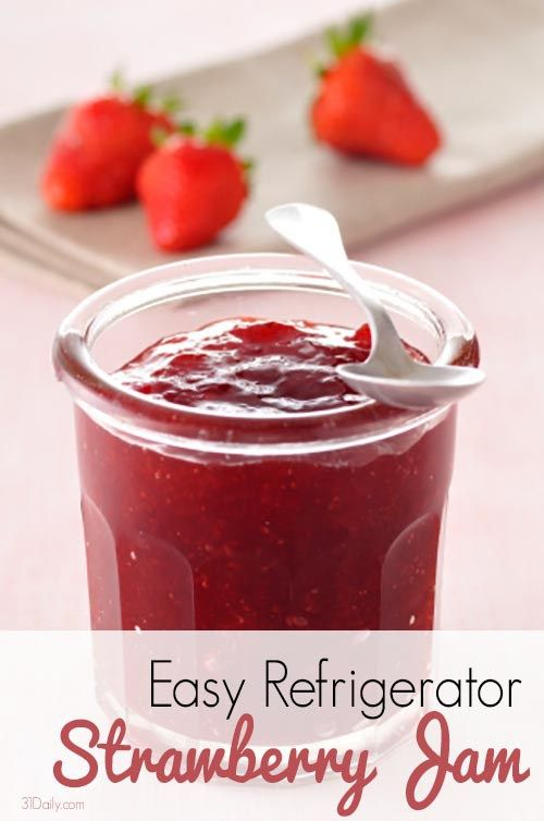 Refrigerator Strawberry Jam and Other Preserving Suggestions