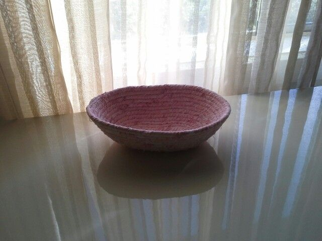Small coil bowl