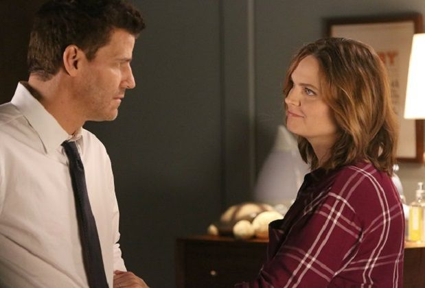 If you're bumming about Bones' recently announced final season, try to find somesolaceinstarsEmily Deschanel and David Boreanaz's upbeat take on the news.