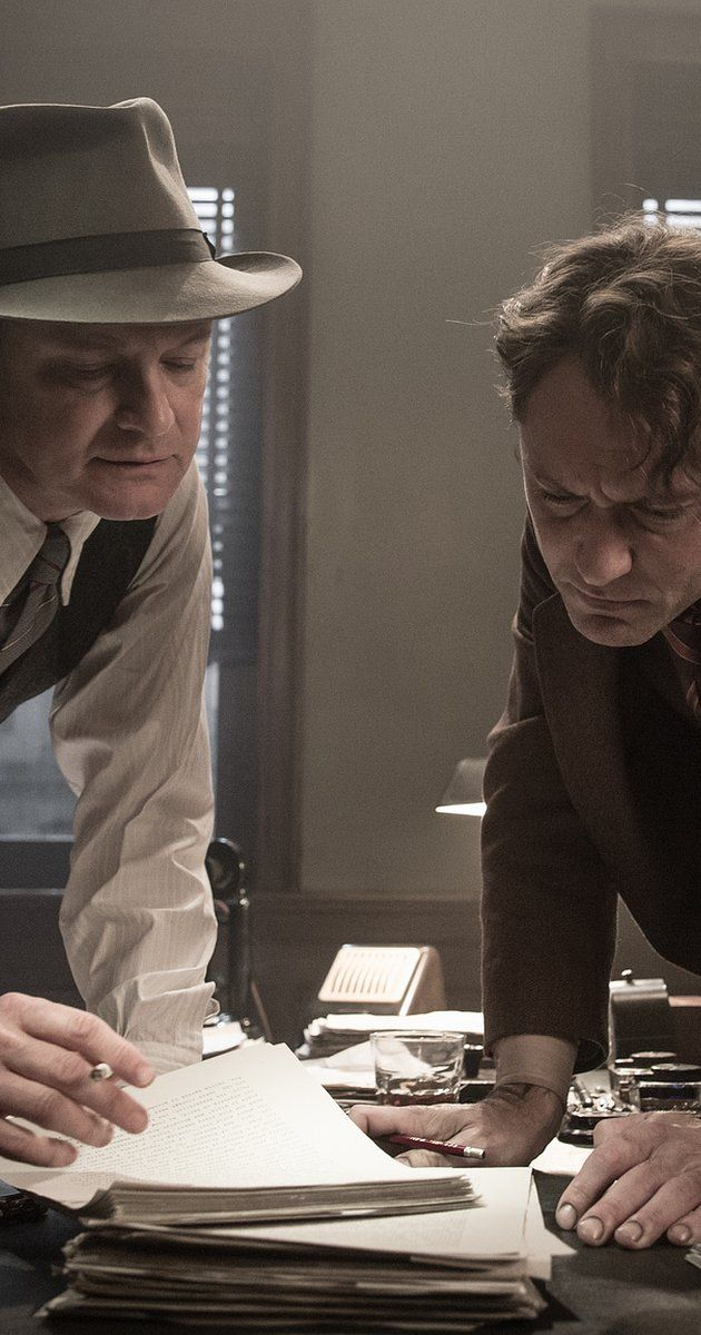 Directed by Michael Grandage.  With Nicole Kidman, Jude Law, Dominic West, Colin Firth. A chronicle of Max Perkins's time as the book editor at Scribner, where he oversaw works by Thomas Wolfe, Ernest Hemingway, F. Scott Fitzgerald and others.