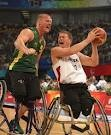 INTENSITY - Patrick Anderson, Canada and Troy Sachs, Australia Wheelchair Basketball Gold Medal Game, Beijing 2008