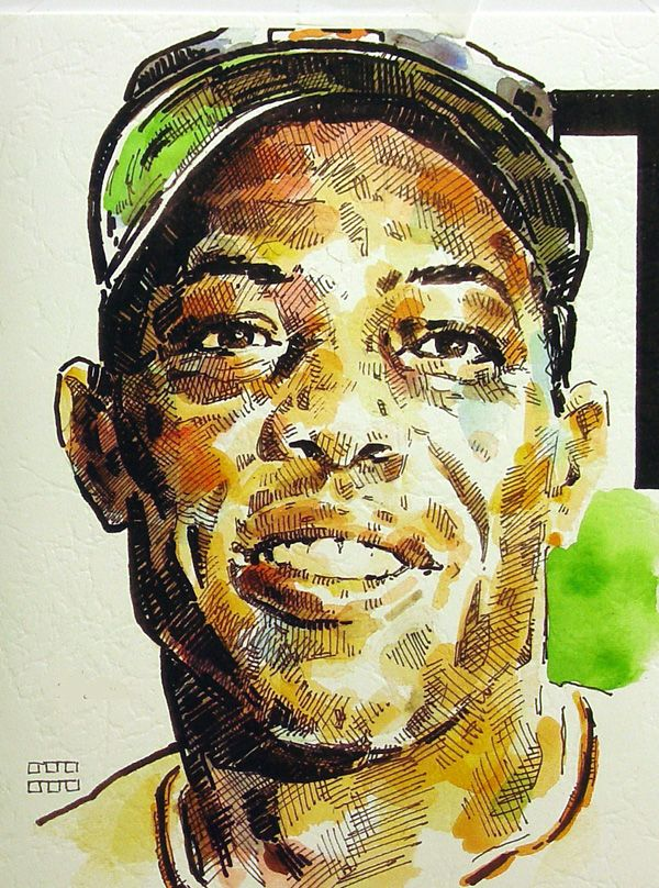 Willie Mays San Francisco Giants Limited Edition Print