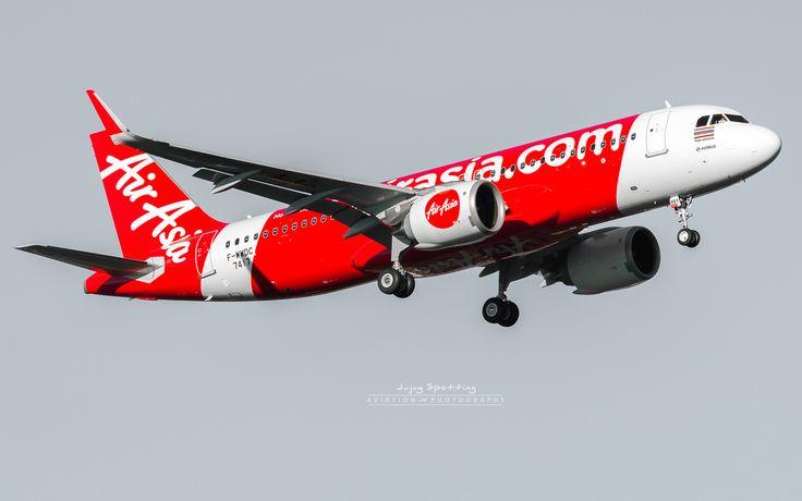 https://flic.kr/p/Q4rPw2 | Airbus A320 neo Thai Air Asia HS-BBY | Msn 7417 F-WWDC