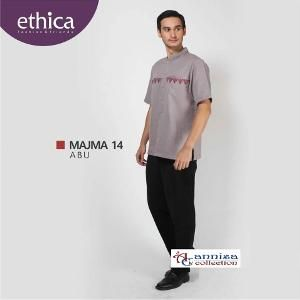 Baju Kemeja Koko Pria Ethica MAJMA 14 ABU