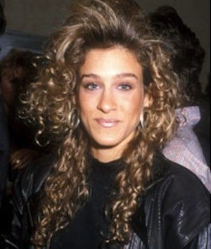 The keyword for 80′s hair was BIG. Crimping irons were used excessively and there was a lot of backcombing going on