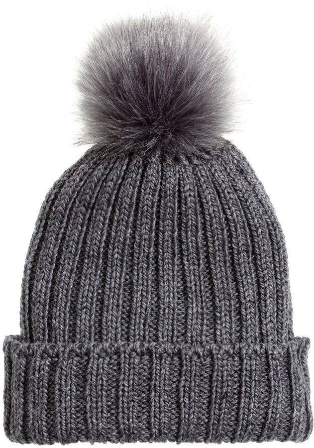 hm wool blend hat on shopstyle