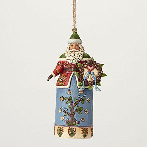 Enesco Jim Shore Wlmsbrg Santa with Wreath Ornament Heartwood Creek http://www.amazon.com/dp/B00S50KLDI/ref=cm_sw_r_pi_dp_Mme9wb14GH77D
