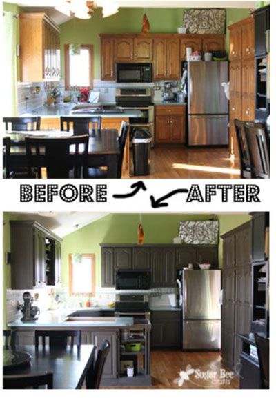 Kitchen Cabinet Remodel Before And After 25 best remodeling before & after images on pinterest | home, diy
