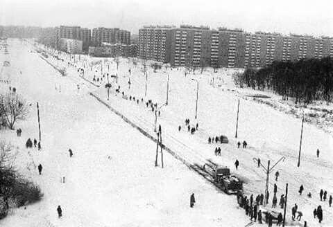 1978/79 Broniewskiego sparalizowana przez zime stulecia