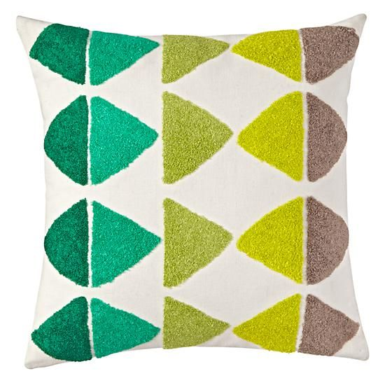 Shaggy Throw Pillow  | The Land of Nod