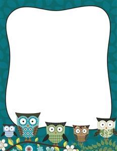 Owl letterhead! love!!