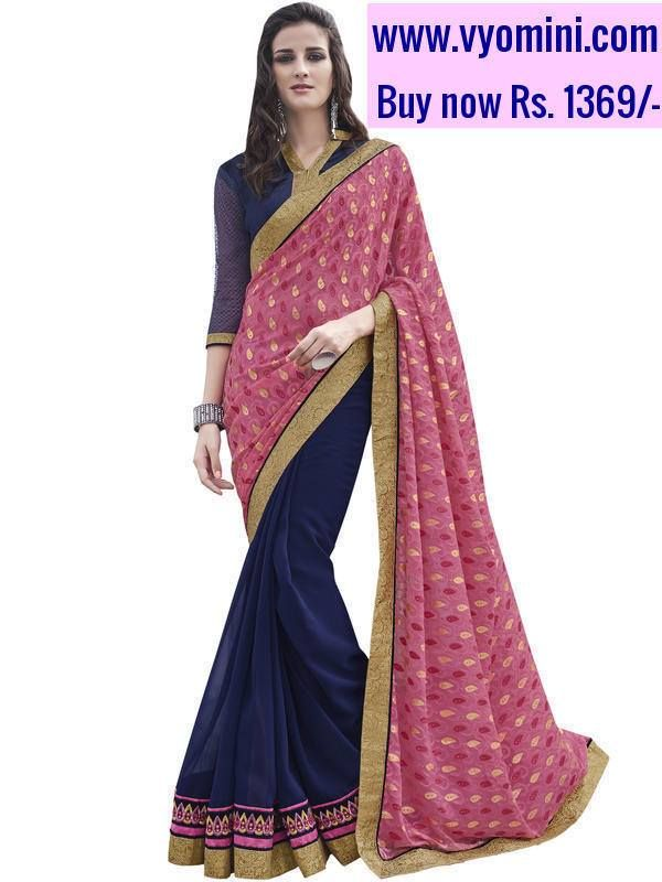 #VYOMINI - #FashionForTheBeautifulIndianGirl #MakeInIndia #OnlineShopping #Discounts #Women #Style #EthnicWear #OOTD  Only Rs.1737/- and get Rs.368/- #CashBack,   ☎+91-9810188757 / +91-9811438585