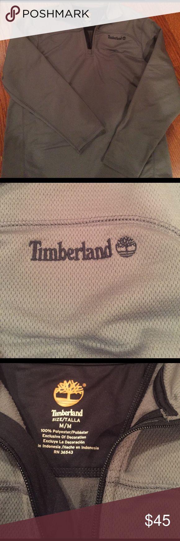 NWOT MENS TIMBERLAND HALF ZIP NWOT HEAVYWEIGHT MENS GRAY TIMBERLAND HALF ZIP Timberland Shirts Sweatshirts & Hoodies