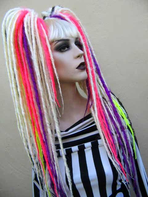 synthetic dreads   dread falls