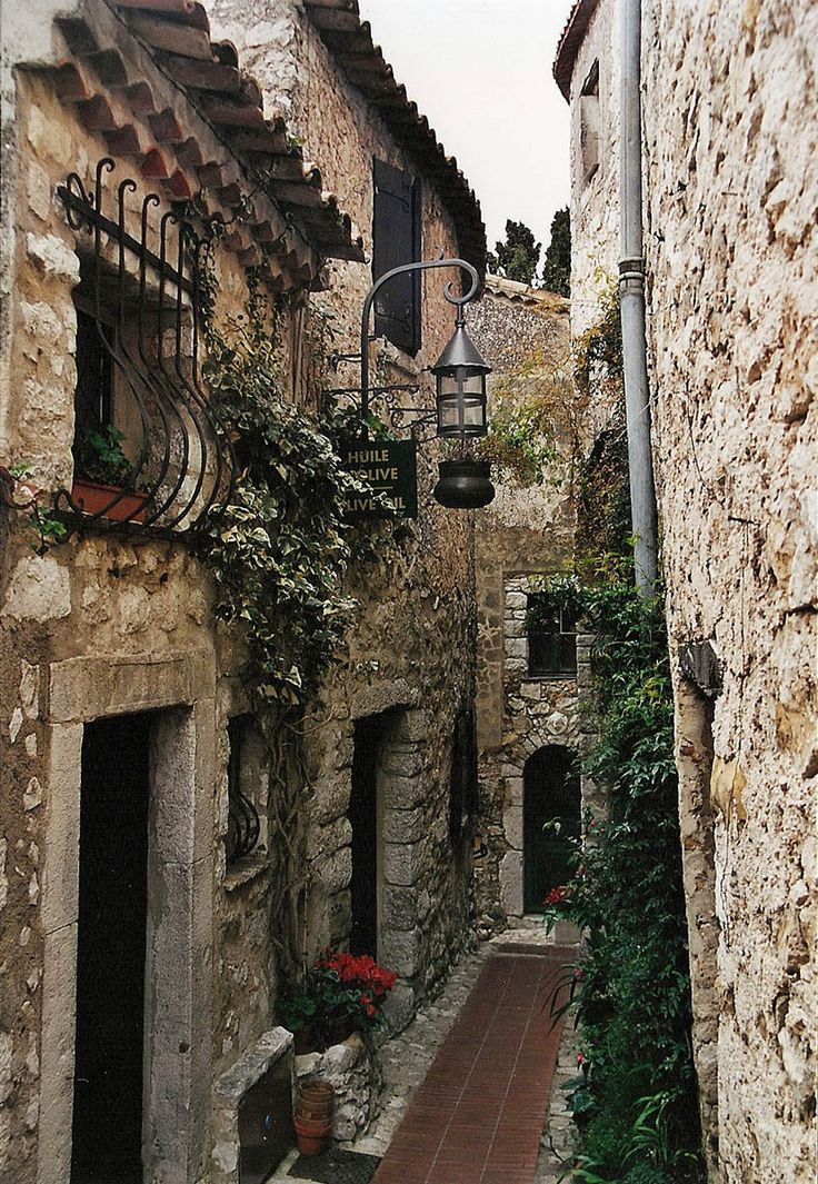 Eze, France. One of our favorite places in the world. Like a little troll town.
