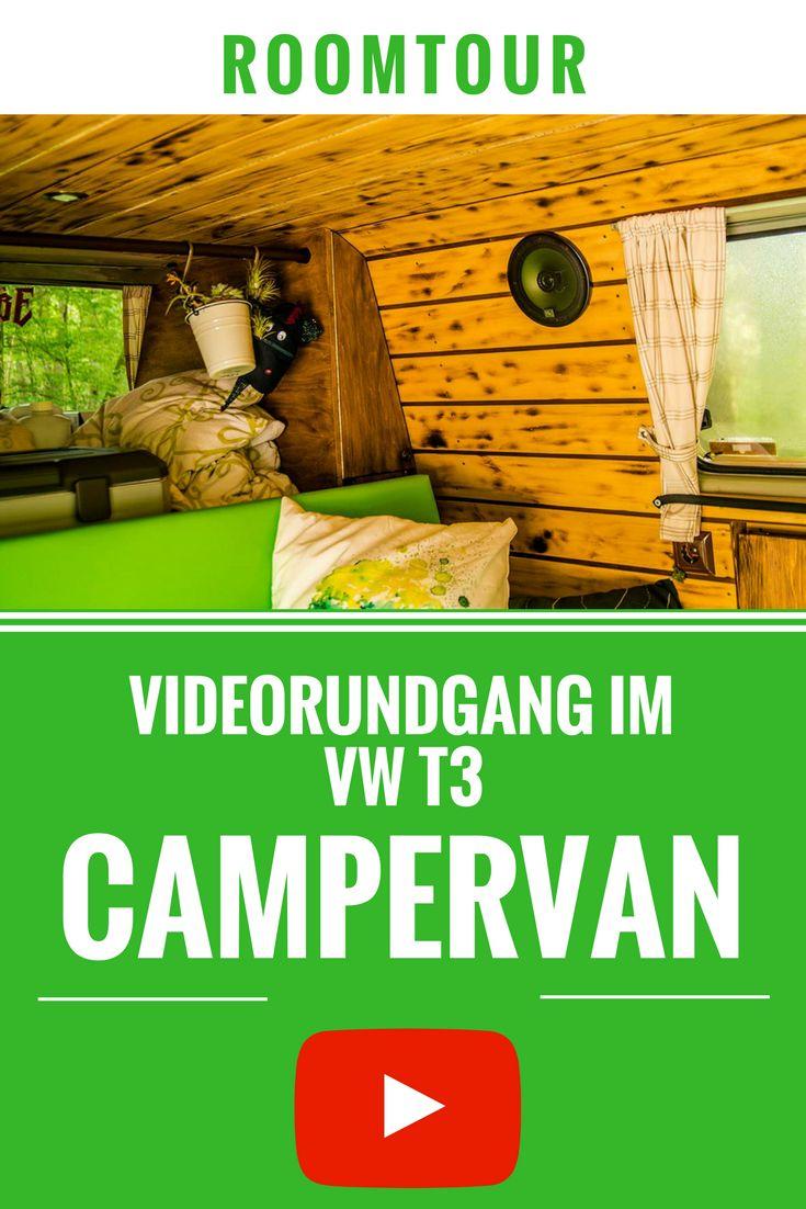 VW T3 Camper Van Roomtour