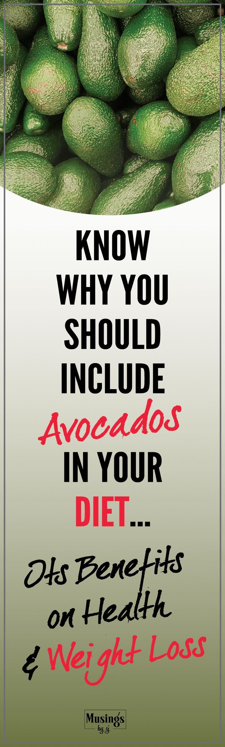 Know all about Avocados, its health benefits, its role in weight loss, Answers to all the questions you would want to know to include Avocados in your diet. A Nutrient Rich Fruit. Decrease the risk of obesity, diabetes, arthritis and heart disease.