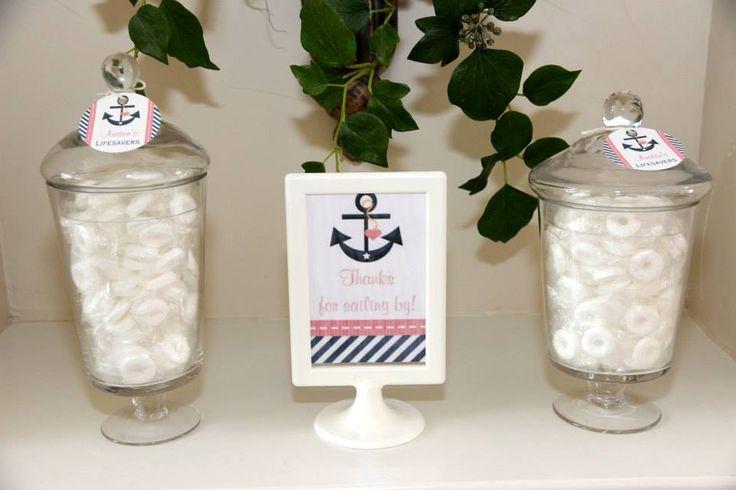 Nautical Quot Lifesavers Quot Candy Bar Johns Party Pinterest Lifesaver Candy Nautical And Candy Bars