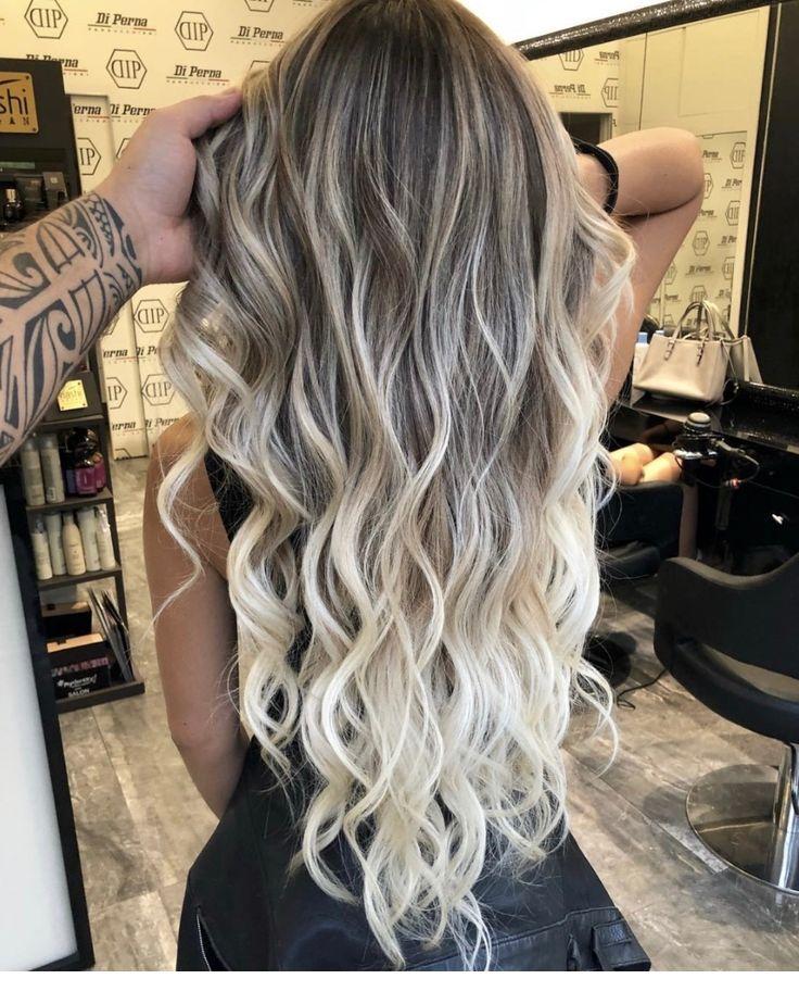 Ash Brown Hair Tone With Highlights Inspiring Ladies Balayage Hair Long Hair Waves Ombre Hair Blonde