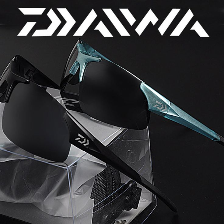Daiwa ngoài trời Câu Cá Thể Thao Sunglasses Men hoặc Women Câu Cá glasses Xe Đạp Leo Sun Glasses với ống kính Nhựa Phân Cực