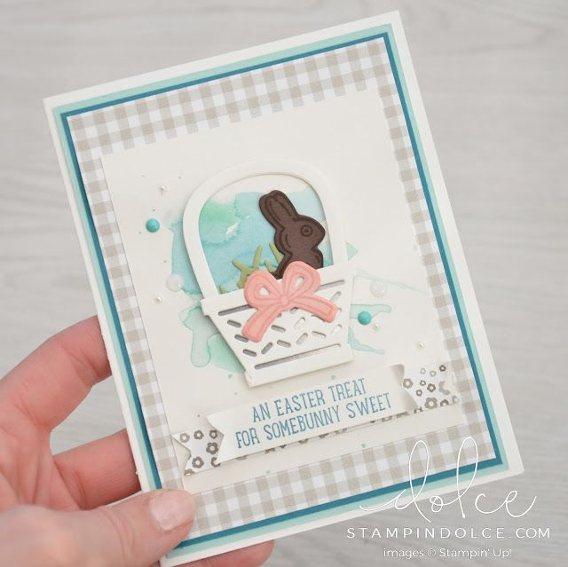 Stampin' Dolce: Basket Bunch Blog Hop - the Crafty Carrot Collective