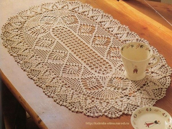 3543 Best Images About Doilies And Furniture Scarves On Pinterest Free Crochet Doily Patterns