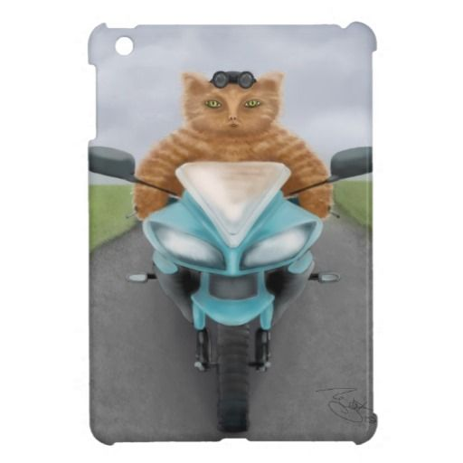 Big Red Tabby Case For The iPad Mini