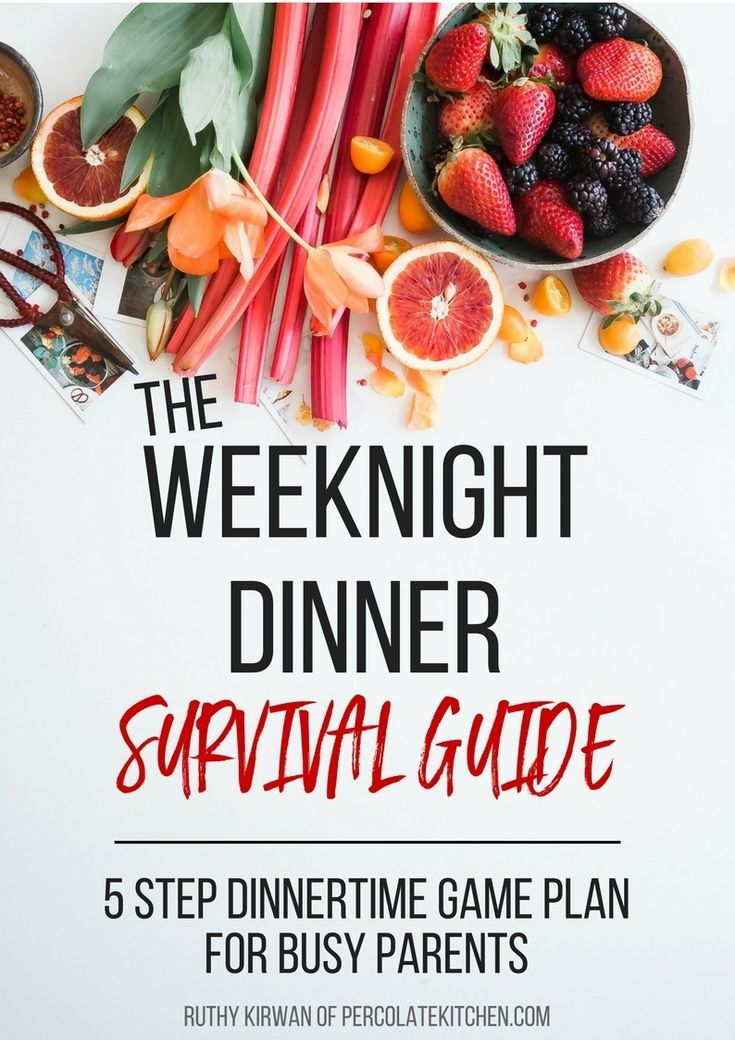 If you've ever felt rushed, stressed, and anxious at the thought of cooking dinner every weeknight, on top of everything ELSE you already have to do, then this ebook will save your mother-lovin' sanity, my friend. There are 41 pages of fluff-free, bullshit-free, actionable advice, plus cheat sheets, timesaving hacks, fill-in-the-blank templates, and more.