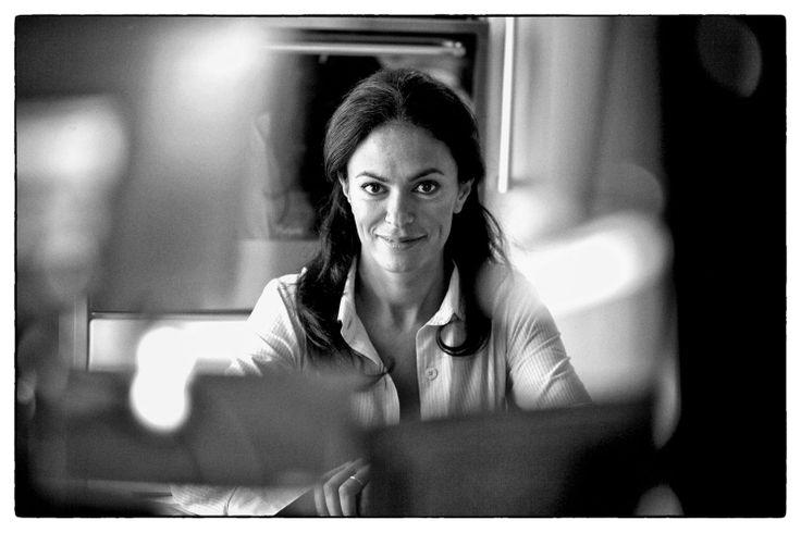 Una bellissima Maria Grazia Cucinotta, Forte dei Marmi 1998. ©CarloChiavacci
