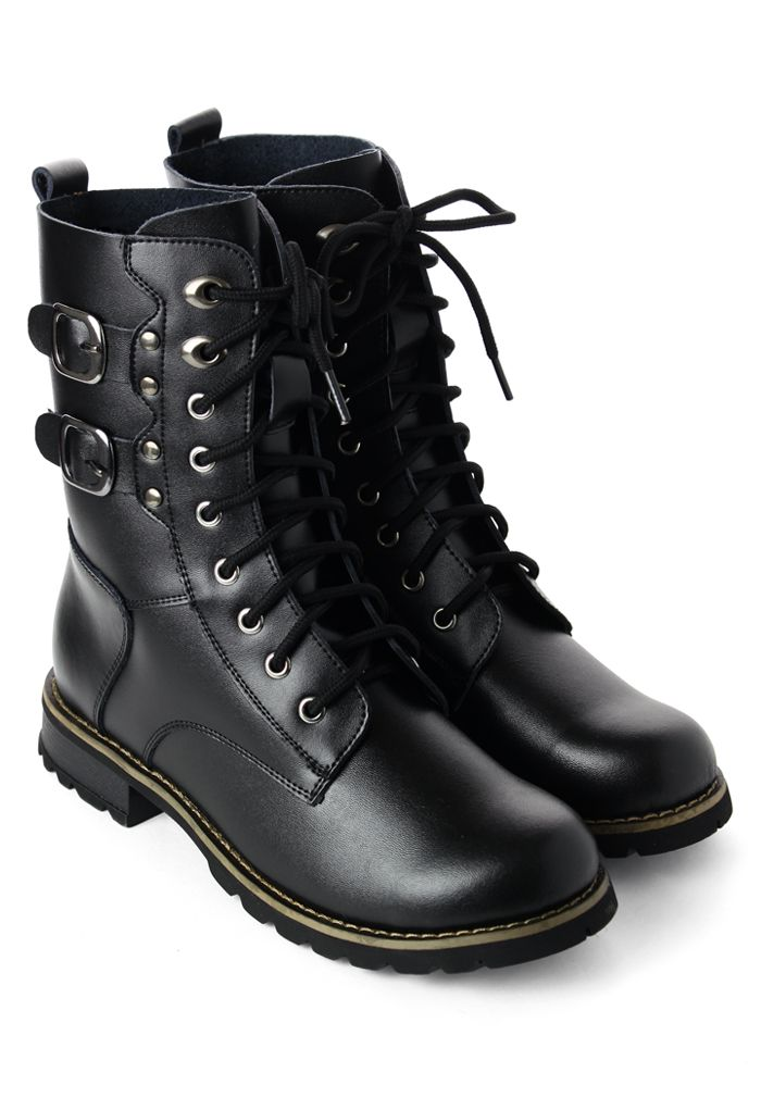 Leather Lace Up Boots. There was a time I used one like this and miss it.