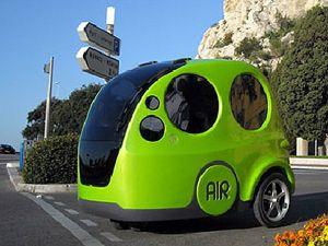 El primer coche que funciona con aire comprimido!!