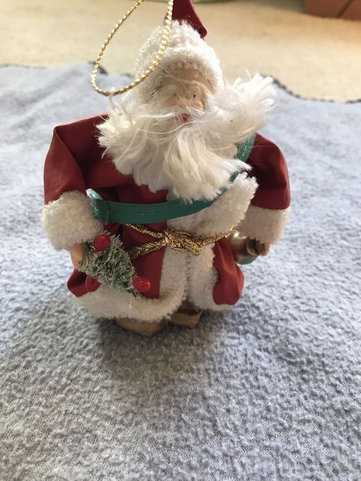 The San Francisco Music Box Company Musical Santa Ornament