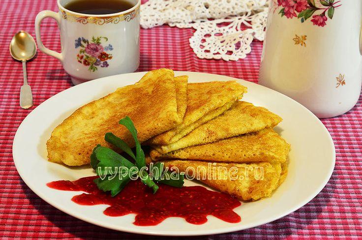 Блины из кукурузной муки на воде  #Pancakes #Corn #Flour #CornFlour #Baking #Yummy #Recipes #CakesOnline #Блины #Кукурузная #Мука #КукурузнаяМука #Выпечка #Вкусняшка #Рецепты #ВыпечкаОнлайн
