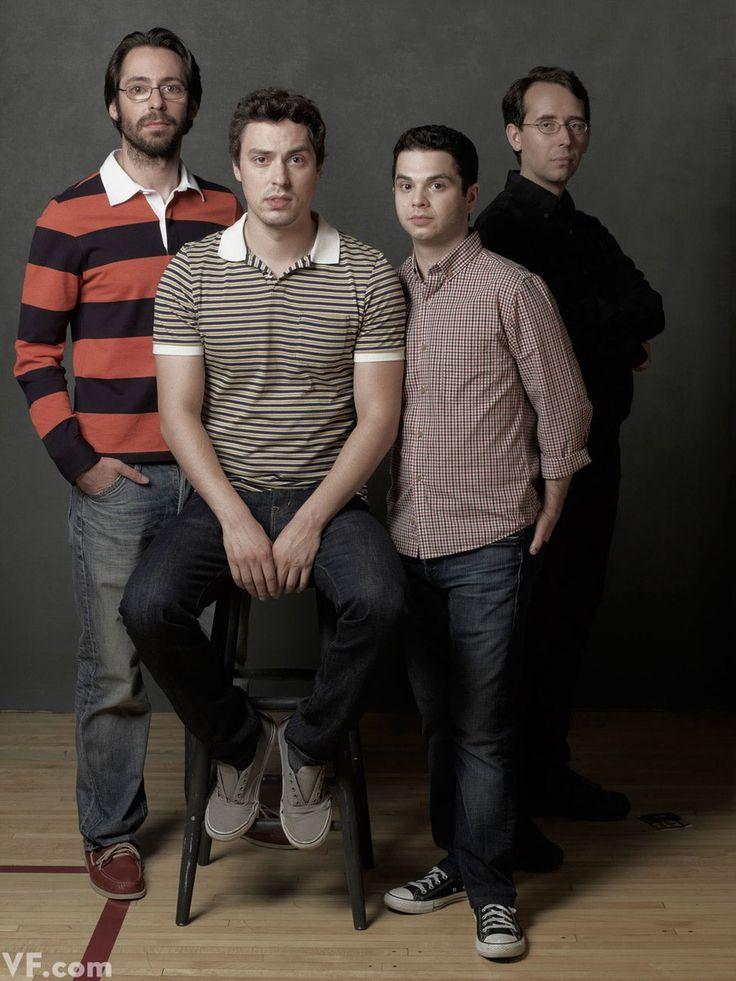 From left, Martin Starr (Bill Haverchuck), John Francis Daley (Sam Weir), Samm Levine (Neal Schweiber), Stephen Lea Sheppard (Harris Trinsky).