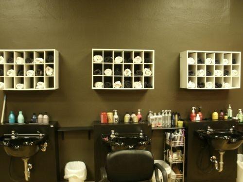 Creative Salon Storage Ideas Love It Pinterest Design Salons And Interior