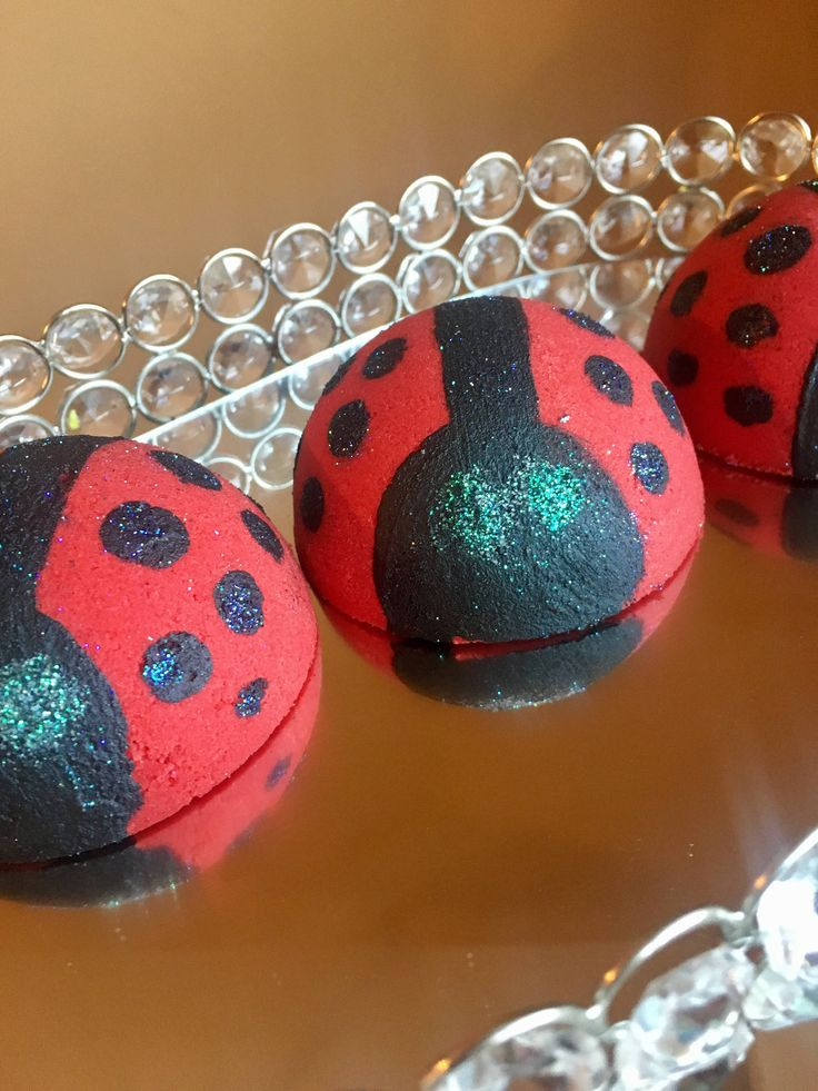 Lady bug bath bomb , summer bath bomb , wholesale bath bombs , bulk bath bombs , kids bath bombs by Organicarellc on Etsy https://www.etsy.com/listing/511684042/lady-bug-bath-bomb-summer-bath-bomb