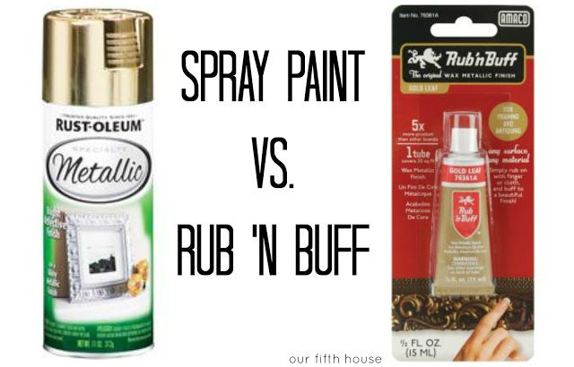 spray painting painting tips painting techniques rub n buff metallic. Black Bedroom Furniture Sets. Home Design Ideas