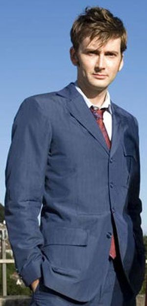 David Tennant, much as I like Matt Smith, I miss you as the Doctor.