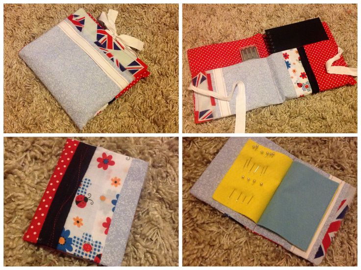 Needle book and sketch book folder