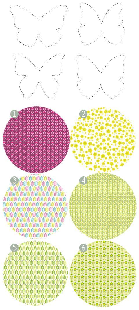 zü: Idée pour la fête des mères...    Printable patterned paper