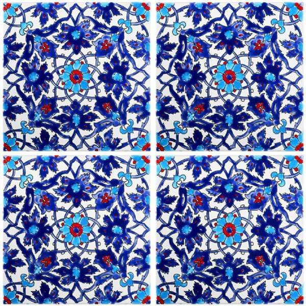 Iznik tile  http://www.sainttropezboutique.us/products/tiles/iznik-tiles/iznik-tile---02.aspx