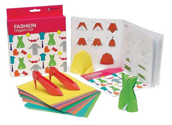MODA SET de ORIGAMI  moda Origami Set con 100 hojas por lightandco